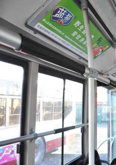 公交车看板广告